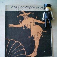 Coleccionismo de Revistas y Periódicos: REVISTA LITERARIA LOS CONTEMPORANEOS. 16-DIC-1920. ANÉCDOTAS TEATRALES. ANTONIO ASENJO . Lote 4676527