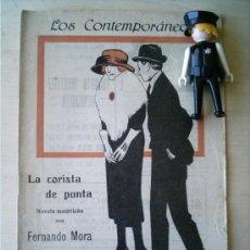 Coleccionismo de Revistas y Periódicos: REVISTA LITERARIA LOS CONTEMPORANEOS. 16-JUN-1921. LA CORISTA DE PUNTA. FERNANDO MORA . Lote 4676552