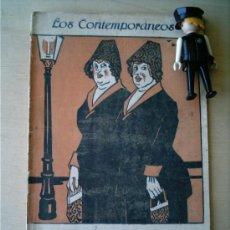 Coleccionismo de Revistas y Periódicos: REVISTA LITERARIA LOS CONTEMPORANEOS. 25-MAR-1920.LAS DE GARCÍA TRIZ. MAURICIO LÓPEZ-ROBERTS . Lote 4676646