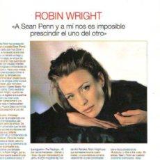 Coleccionismo de Revistas y Periódicos: ROBIN WRIGHT, LIV TYLER. Lote 20785484