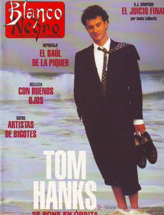 TOM HANKS, OJ. SIMPSON (Coleccionismo - Revistas y Periódicos Modernos (a partir de 1.940) - Otros)