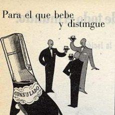 Coleccionismo de Revistas y Periódicos: BRANDY 1950 CONSULADO RETAL REVISTA. Lote 9005913