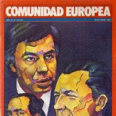 Coleccionismo de Revistas y Periódicos: REVISTA COMUNIDAD EUROPEA MAYO JUNIO 1985. Lote 5095893