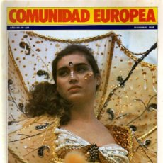 Coleccionismo de Revistas y Periódicos: REVISTA COMUNIDAD EUROPEA DICIEMBRE 1985. Lote 5095925