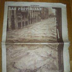 Coleccionismo de Revistas y Periódicos: LAS PROVINCIAS- HISTÓRICO NÚMERO 14 DE OCTUBRE DE 1957 , RIADA DE VALENCIA.. Lote 23600288