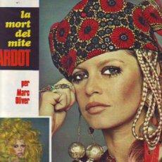 Coleccionismo de Revistas y Periódicos: BRIGITTE BARDOT. TELE / ESTEL. 1969. Lote 8533153