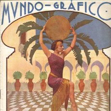 Coleccionismo de Revistas y Periódicos: LOTE 7 REVISTAS MUNDO GRAFICO AÑO 1.925. Lote 5482005
