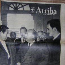 Coleccionismo de Revistas y Periódicos: PERIODICO ARRIBA. Nº 9.487. 19 ABRIL 1963.. Lote 25467423