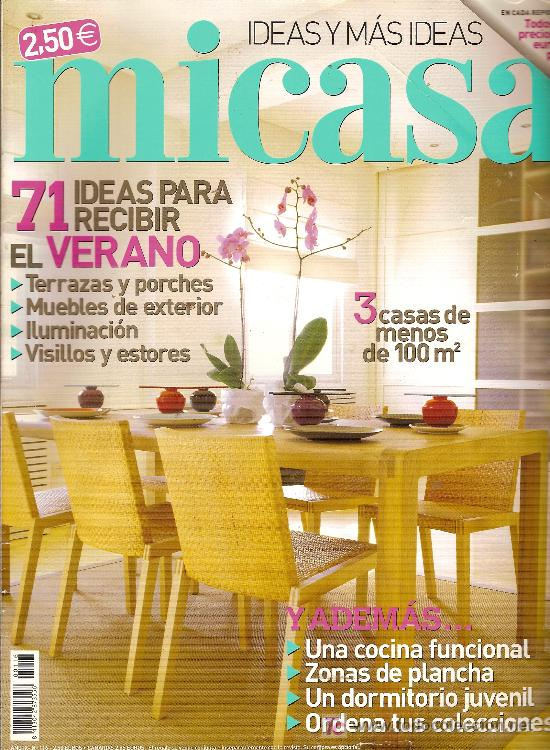 Muebles y decoraci n revista 39 mi casa 39 n 116 comprar for Revista decoracion mi casa
