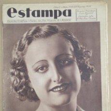 Coleccionismo de Revistas y Periódicos: ESTAMPA Nº 375 (23/03/35) MISS CARTAGENA ZORITA PONFERRADA MONFORTE PURITA LUNA CACERES SANTIAGO . Lote 33083276