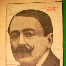 Coleccionismo de Revistas y Periódicos: REVISTA LITERARIA: LA NOVELA CORTA. MANUEL BUENO // EN EL UMBRAL DE LA VIDA. 28 MAYO 1921 . Lote 5587229