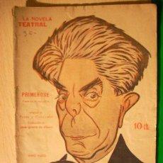 Coleccionismo de Revistas y Periódicos: REVISTA LITERARIA: LA NOVELA TEATRAL. FLERS Y CAILLAVET // PRIMEROSE. 12 AGO 1917 . Lote 5587851