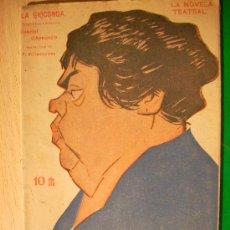 Coleccionismo de Revistas y Periódicos: REVISTA LITERARIA: LA NOVELA TEATRAL. GABRIEL D'ANNUNZIO // LA GIOCONDA. 24 JUN 1917 . Lote 5588038