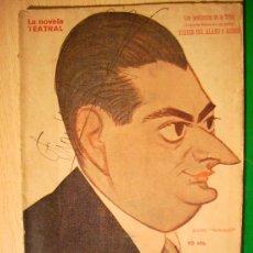 Coleccionismo de Revistas y Periódicos: REVISTA LITERARIA: LA NOVELA TEATRAL. TORRES DEL ALAMO // LOS PENDIENTES DE LA TRINI. 11 ENE . Lote 5588067