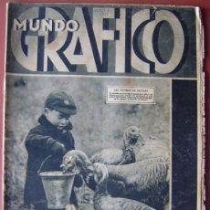 Coleccionismo de Revistas y Periódicos: MUNDO GRAFICO Nº 1051 (22/12/31) VALENCIA VICH BLASCO IBAÑEZ ZARAGOZA BADALONA SITGES GERONA JACA . Lote 13813481