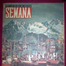 Coleccionismo de Revistas y Periódicos: REVISTA SEMANA - Nº9 AÑO 1 - 23/4/1940 - PORTADA: NARVIK. Lote 8775556