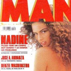 Coleccionismo de Revistas y Periódicos: REVISTA MAN Nº 64: NADINE PICARD,DENZEL WASHINGTON,PETER GABRIEL,WINONA RYDER,GABRIELA SABATINI.... Lote 5759717