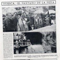 Coleccionismo de Revistas y Periódicos: HUESCA 1913 PANTANO RETAL REVISTA. Lote 8550472