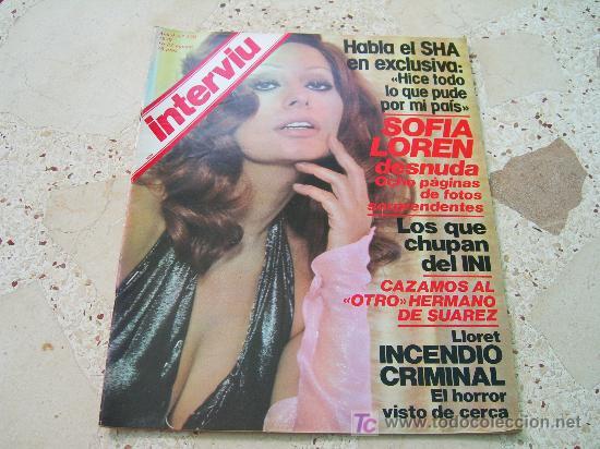 Interviu Nº 170 Sofia Loren Desnuda Ocho Pági Sold At Auction