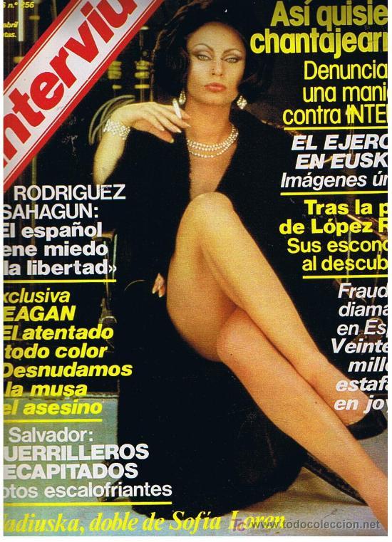 Interviu Año 1981 Nº 256 Nadiuska Doble De Sold Through Direct