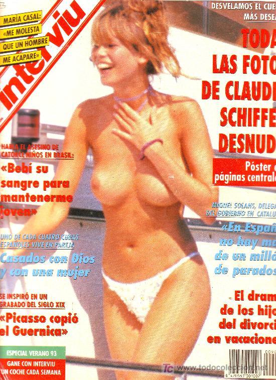 Interviu Nº 904 Claudia Schiffer Desnudamaría Vendido En Subasta