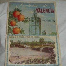 Coleccionismo de Revistas y Periódicos: INUNDACIÓN DE VALENCIA,14 OCTUBRE 1957. Lote 23616048
