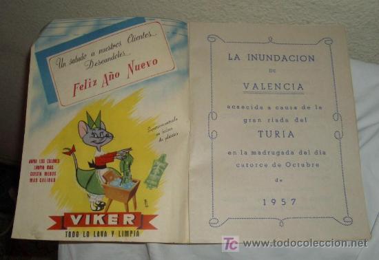 Coleccionismo de Revistas y Periódicos: INUNDACIÓN DE VALENCIA,14 OCTUBRE 1957 - Foto 2 - 23616048