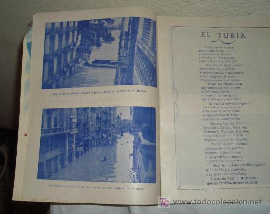 Coleccionismo de Revistas y Periódicos: INUNDACIÓN DE VALENCIA,14 OCTUBRE 1957 - Foto 3 - 23616048