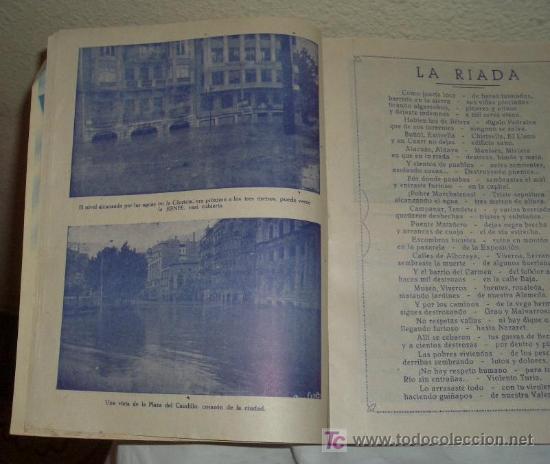 Coleccionismo de Revistas y Periódicos: INUNDACIÓN DE VALENCIA,14 OCTUBRE 1957 - Foto 4 - 23616048