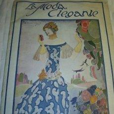 Coleccionismo de Revistas y Periódicos: REVISTA LA MODA ELEGANTE - JUNIO 1924 . CUBIERTA A COLOR DE DE DIEGO * ART DECO *. Lote 23449239