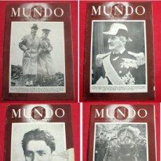 Coleccionismo de Revistas y Periódicos: 4 REVISTAS - MUNDO - Nº 28 / 29 / 30 / 31 - REVISTA SEMANAL POLITICA EXTERIOR Y ECONOMIA. Lote 6555313