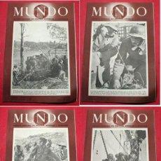 Coleccionismo de Revistas y Periódicos - 4 REVISTAS - MUNDO - Nº 133 / 134 / 135 / 136 - REVISTA SEMANAL POLITICA EXTERIOR Y ECONOMIA - 6556067