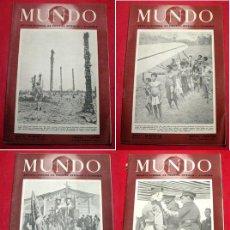 Coleccionismo de Revistas y Periódicos: 4 REVISTAS - MUNDO - Nº 159 / 160 / 161 / 162 - REVISTA SEMANAL POLITICA EXTERIOR Y ECONOMIA. Lote 6556216