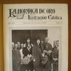 Coleccionismo de Revistas y Periódicos: LA HORMIGA DE ORO Nº 48 (02/12/26) SEVILLA SEMANA SANTA LA SALLE ILLESCAS ZARAGOZA CORUÑA ROTARY . Lote 117826698