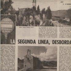 Coleccionismo de Revistas y Periódicos: REVISTA 1962 SOLIUS SANTA CRISTINA D' ARO NARCIS OLLER MUSEU VI VILAFRANCA DEL PENEDES THARRATS. Lote 16389479