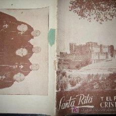 Coleccionismo de Revistas y Periódicos: REVISTA ANTIGUA RELIGIOSA SANTA RITA Y EL PUEBLO CRISTIANO. Lote 24606480