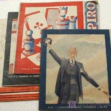 Coleccionismo de Revistas y Periódicos: DON PAPIRO OCASION ¡¡¡¡¡.- LOTE CON LOS NUMEROS 1-4-5-9-10 ----- 1944- LEER. Lote 16142914