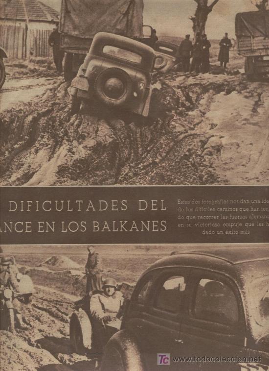SEMANARIO FOTOS. AÑO 1940. SEGUNDA GUERRA MUNDIAL. YOGUSLAVIA. BALCANES. (Coleccionismo - Revistas y Periódicos Modernos (a partir de 1.940) - Otros)