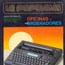 Coleccionismo de Revistas y Periódicos: LOTE 14 REVISTAS LA PAPELERIA. Lote 127145614