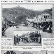 Coleccionismo de Revistas y Periódicos: BARCELONA 1914 AVENIDA HOJA REVISTA. Lote 7654472