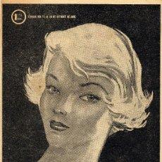 Coleccionismo de Revistas y Periódicos: MARISOL Nº90 (EL SEMANARIO PARA LA MUJER). AÑO 1955. Lote 7702425