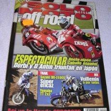 Coleccionismo de Revistas y Periódicos: SOLO MOTO ACTUAL & OFF ROAD . NÚMERO 1244 (11/04/ 2000). A ESTRENAR - PEDIDO MÍNIMO 10 EUROS. Lote 171641897