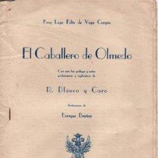 Coleccionismo de Revistas y Periódicos: REVISTA -BLANCO Y NEGRO.EL CABALLERO DE OLMEDO. ILLUSTRACIONES DE ENRIQUE BRAÑEZ. Lote 23121882
