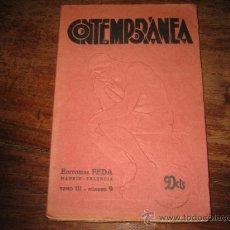 Coleccionismo de Revistas y Periódicos: CONTEMPORANEA Nº9 SEPTIEMBRE- 1933. Lote 7950680