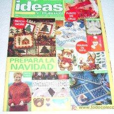 Collectionnisme de Revues et Journaux: IDEAS Y PUNTOS Nº 95: PUNTO DE CRUZ,PATCHWORK,NAVIDAD,BORDADO,OSITOS,PUNTO,GANCHILLO. Lote 52392890