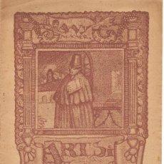 Coleccionismo de Revistas y Periódicos: 2 REVISTAS ARTS I ESTUDIS Nª 1 Y 3. Lote 26980540