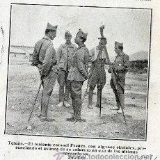 Coleccionismo de Revistas y Periódicos: FRANCO 1924 TENIENTE CORONEL RETAL REVISTA. Lote 21075086