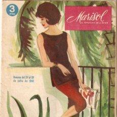 Coleccionismo de Revistas y Periódicos: MARISOL. SEMANARIO DE LA MUJER. JULIO 1960.. Lote 8081161
