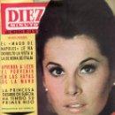 Coleccionismo de Revistas y Periódicos: DIEZ MINUTOS.STEPHANIE POWERS EN PORTADA.REVISTA Nº 711 -10 ABRIL 1965. PRECIO ORIGINAL 6 PESETAS. Lote 25351028