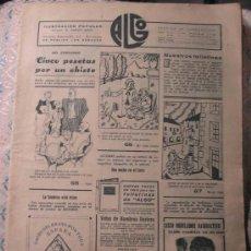 Collezionismo di Riviste e Giornali: ALGO ILUSTRACION POPULAR. Lote 24208947
